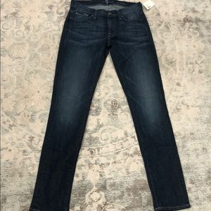 NWT 7 for All Mankind Skinny Jeans Roxanne Sz 27